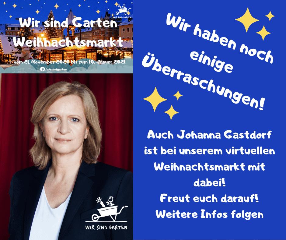 Johanna Gastdorf macht mit