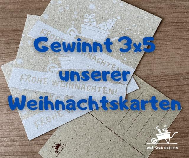 Gewinnspiel Weihnachtskarten