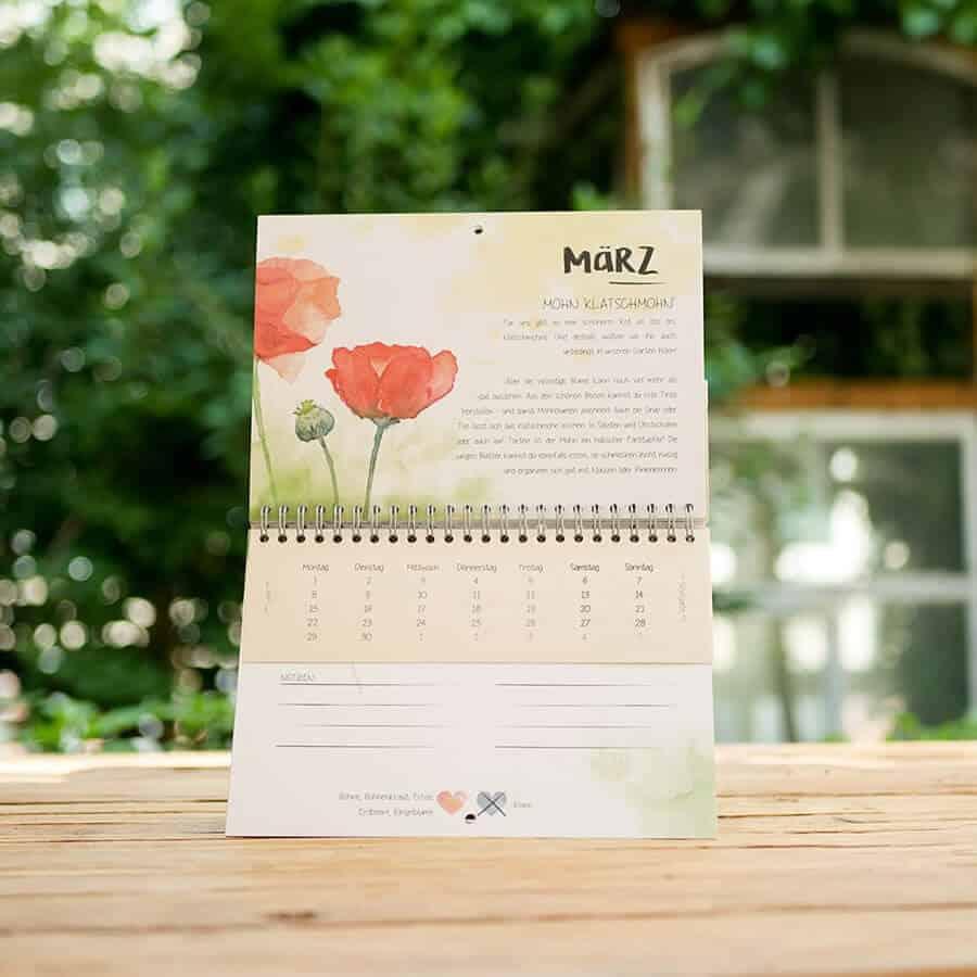 und einen richtigen Kalender