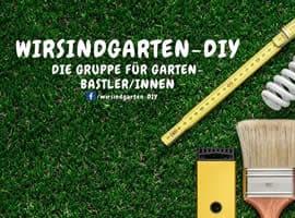 Facebook Gruppe Wir sind Garten - DIY