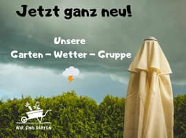 Facebook Gruppe Wir sind Garten - Wetter